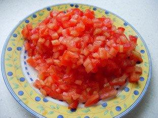 Petites omelettes aux légumes : Photo de l'étape 2