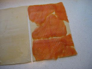 Smoked salmon sacristains : Photo of step #3