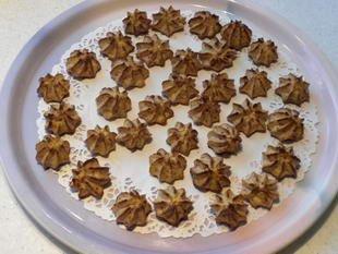 Pommes dauphines au jambon Serano : Photo de l'étape 10