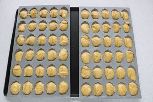 Petites madeleines salées aux 2 fromages : Photo de l'étape 4