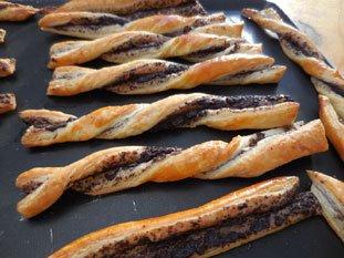 Flutes feuilletées aux olives : Photo de l'étape 26