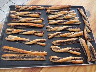 Flutes feuilletées aux olives : Photo de l'étape 7