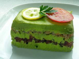 Terrine d'avocat au saumon fumé : Photo de l'étape 13