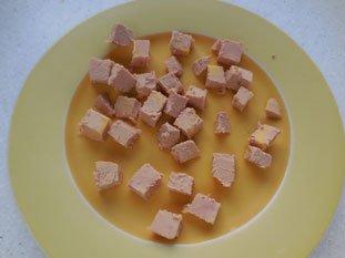 Purée de topinambours au foie gras : Photo de l'étape 1