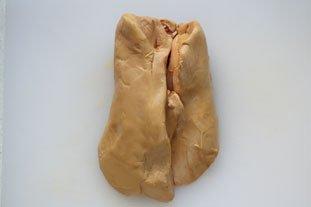 Foie gras en terrine fait maison : Photo de l'étape 1