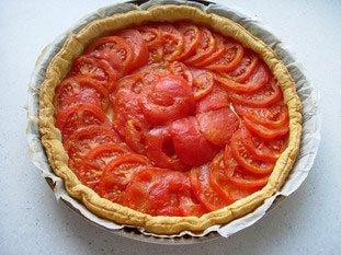 Tarte aux tomates : Photo de l'étape 8