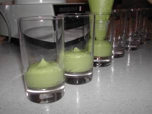 Four-tier glasses : Photo of step #4