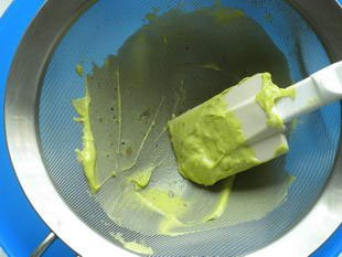 Verrine of avocado mousse and crab : Photo of step #3