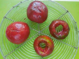 Tomates macédoine : Photo de l'étape 2