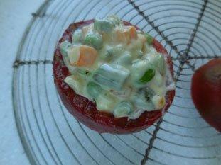 Tomates macédoine : Photo de l'étape 3
