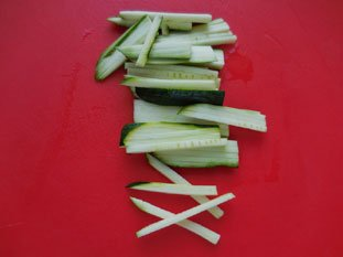 Vegetable tartare : Photo of step #2