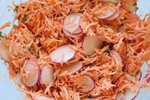 Salade croquante radis et carottes : Photo de l'étape 26