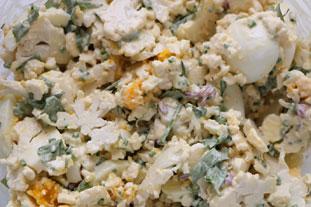 Salade chou fleur et oeufs durs : Photo de l'étape 26