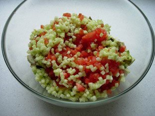 Salade mélangée : Photo de l'étape 8