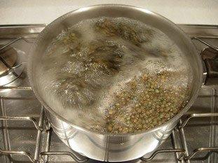 Salade tiède de lentilles : Photo de l'étape 3