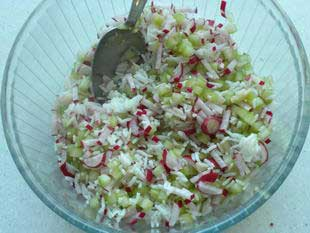 Salade croquante : Photo de l'étape 4