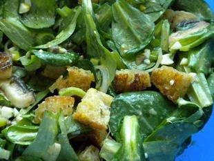Salade de mâche aux croutons : Photo de l'étape 26