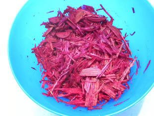Raw beetroot salad : Photo of step #2