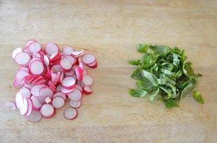 Salade mi-croquante aux crevettes : Photo de l'étape 4