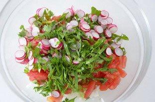 Salade mi-croquante aux crevettes : Photo de l'étape 6