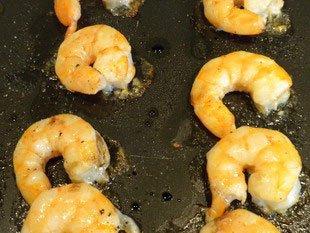 Salade mi-croquante aux crevettes : Photo de l'étape 9