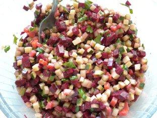 Salade cubique : Photo de l'étape 26