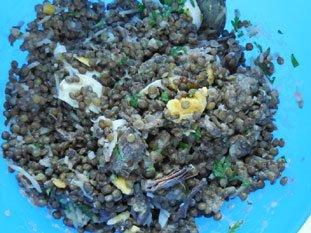 Salade de lentilles et viande froide : Photo de l'étape 26