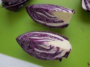 Salade de chou rouge à la ciboule : Photo de l'étape 3
