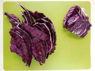 Salade de chou rouge à la ciboule : Photo de l'étape 5