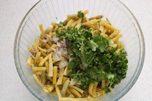 Salade de haricots vinaigrette : Photo de l'étape 7