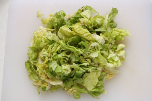 Salade verte d'avocat : Photo de l'étape 2