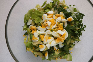 Salade verte d'avocat : Photo de l'étape 6