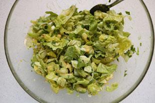Salade verte d'avocat : Photo de l'étape 8