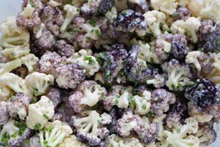 Salade de chou-fleur bicolore : Photo de l'étape 26