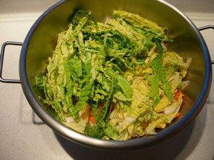 Soupe de légumes moulinée : Photo de l'étape 2