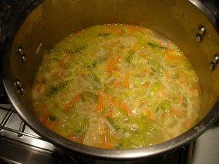 Soupe de légumes moulinée : Photo de l'étape 8