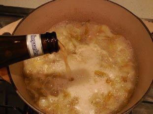 Soupe d'endives à la bière : Photo de l'étape 6