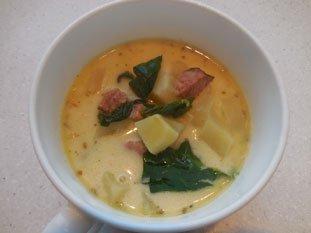 Soupe aux épinards frais : Photo de l'étape 10