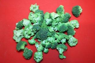 Bouillon léger aux brocoli : Photo de l'étape 1