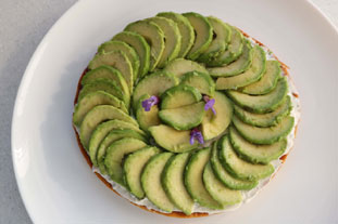 Tarte fine à l'avocat : Photo de l'étape 9