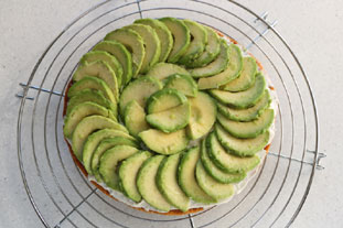Tarte fine à l'avocat : Photo de l'étape 8