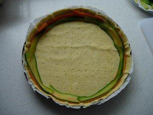 Tarte fine de légumes en rosace : Photo de l'étape 10