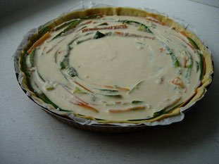 Tarte fine de légumes en rosace : Photo de l'étape 13