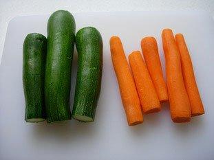 Tarte fine de légumes en rosace : Photo de l'étape 2