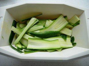 Tarte fine de légumes en rosace : Photo de l'étape 4