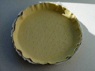 Tarte fine courgettes-menthe : Photo de l'étape 1
