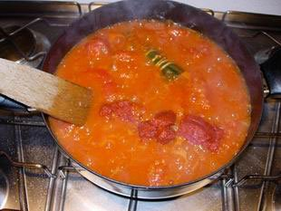 Sauce tomate pour pizza : Photo de l'étape 3