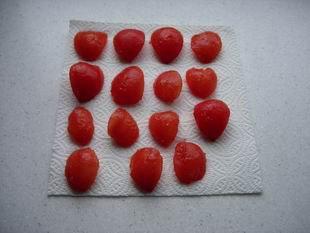 Tomates confites : Photo de l'étape 2