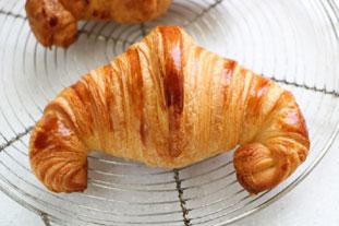 Croissants et feuillantines au chocolat : photo finale