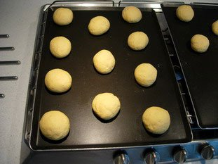 Cornmeal baps for Anne : Photo of step #7